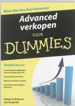 Advanced verkopen voor Dummies