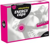 Hot Women Energy Caps - 5 stuks - Libido Middel