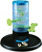Trixie Dog Activity Tricky Tower - Piepend Speelgoed x 28 cm - Blauw