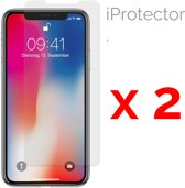 Iphone X  Glazen Screen Protector 2-Pack (2.5D 9H 0.26mm)
