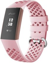 123Watches.nl Fitbit charge 3 sport point band - roze
