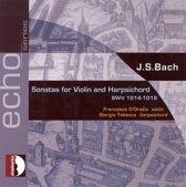 Bach Sonatas For Violin & Harpsich