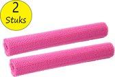 Antislipmat 2 Stuks 30x150cm – Antislip Onderkleed op Rol – Roze