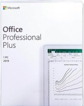 Microsoft Office 2019 Professional Plus - Eenmalig