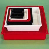 Kaiser Lab Tray 24x30 rood 4168