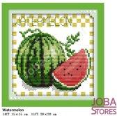 """Borduur Pakket """"JobaStores®"""" Fruit 06 11CT voorbedrukt (20x20cm)"""