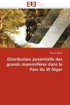 Distribution Potentielle Des Grands Mammif�res Dans Le Parc Du W Niger