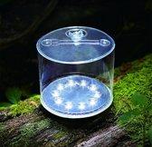 Ronde, Doorzichtige, Waterdichte, duurzame en opblaasbare solarlamp (1 stuk)