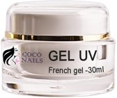 Coconails French UV-gel French gel Gelnagels - UV-gel