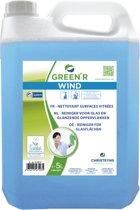 Glas en ruitenreiniger Christeyns - Green'R Wind 5 liter