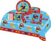 Brandweerman Sam feestpakket | feestartikelen kinderfeest voor 8 kinderen