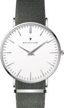 Wallace Hume Klassiek Wit - Horloge - NATO - Grijs
