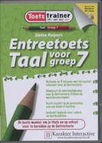 Boek cover Entreetoets Taal voor groep 7 van Sietse Kuipers