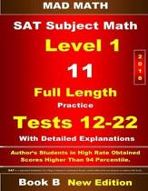 2018 SAT Subject Level 1 Book B Tests 12-22
