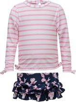 Snapper Rock UV Zwemset for Babies - Navy Orchid - Roze/Donkerblauw - maat 92-98