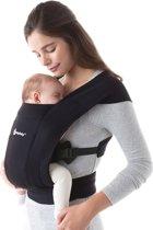 Ergobaby Embrace - Pure Black - ergonomische draagzak , ideaal voor newborns