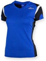 Eabel T-shirt dames - Blauw/Zwart