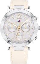 Tommy Hilfiger TH1781880 horloge dames - wit - edelstaal