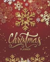 Christmas Planner: Get Organised For Christmas - Plan Cards, Gifts, Budget, Meals, Shopping Lists, Recipes, Lists, Notes & Much More - Pl