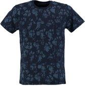 Petrol zacht blauw slim fit shirt valt kleiner - Maat S