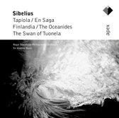 Sibelius: En Saga, Swan of Tuonela etc / Andrew Davis, Royal Stockholm PO