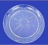Plastic borden 25cm