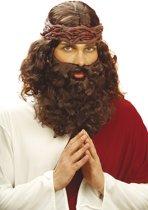 Profetenpruik en -baard voor mannen - Verkleedattribuut