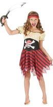 LUCIDA - Zeeschuimer piratenpak voor meisjes - M 122/128 (7-9 jaar) - Kinderkostuums