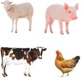 Tuinsteker boerderijdieren keuze