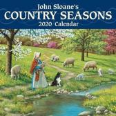 John Sloane's Country Seasons 2020 Mini Wall Calendar