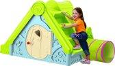 Keter Funtivity Kunststof Groen/Blauw - Speelhuis