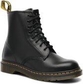 Dr. Martens - Dames Laars 1460 Black Smooth Boots - Zwart - Maat 43