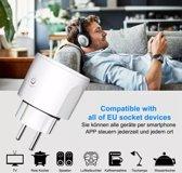 Slimme stekker - smart plug - Adroid / IOS - WiFi stopcontact - energie besparend - inbraak preventie - werkt met Amazon Alexia en Google Home