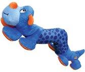 Kong Shakers Rups M-L - Kauwspeelgoed - Blauw