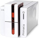 Evolis Primacy Simplex Expert Fire Red