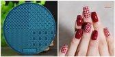 Stamping Plate 005 / nagel stempel- sjabloon