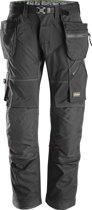 Snickers FlexiWork broek - met holsterzak - zwart - mt. XL taille 54 W38