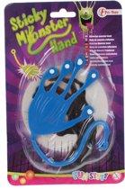 Toi-toys Kleverige Monster Plakhand 10 Cm Blauw