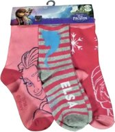 Disney frozen sokken 3 paar Anna Elsa