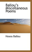 Ballou's Miscellaneous Poems