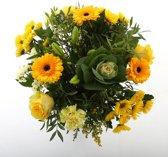 Bloemen Boeket Kim Extra Large Yellow (20 takken)