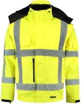 Tricorp Pilotjack RWS - Workwear - 403006 - Fluor Geel - maat 4XL