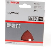 Bosch Schuurvel delta wood and paint K80 blister van 5 vellen
