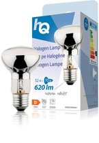 Hq Hqhe27r63004 Halogeenlamp R63 E27 53w 620 Lm 2 800 K