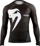 Giant Long Sleeves Rashguard Black