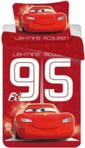 Disney Cars dekbedovertrek - rood - 140x200 cm