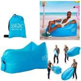 SeatZac Chill Bag - Zitzak Blauw