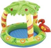 Bestway Baby-peuter zwembad Jungle met UV bescherming (99 x 91 x 71 cm)