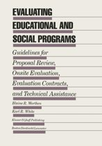 Evaluating Educational and Social Programs