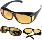 Benson (Overzet) Nachtbril - Night Vision - Geeft je helder zicht in het donker - Zwart